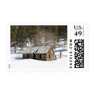 Old Cabin in the Black Hills Postage