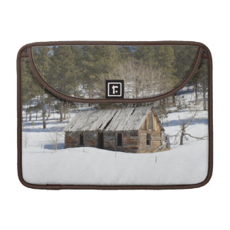 Old Cabin in the Black Hills Sleeve For MacBook Pro