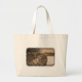 Old Cabin Textures Tote Bags