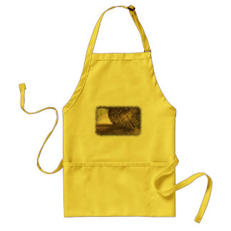 Old Cabin Wood Textures Adult Apron