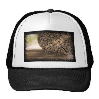 Old Cabin Wood Textures Trucker Hat