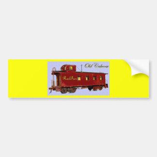 Old Caboose Bumper Sticker