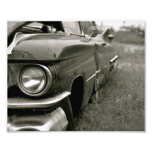 Old Cadillac Print Photo Art