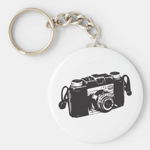 Old camera keychain