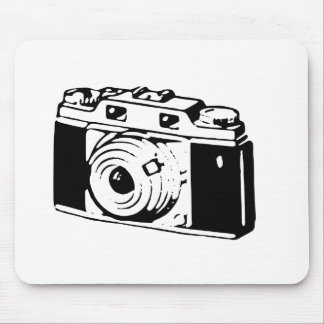Old Camera Mouse Pad