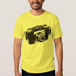 Old camera t shirt