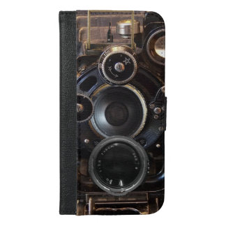 Old Camera Vintage photography gear iPhone 6/6s Plus Wallet Case