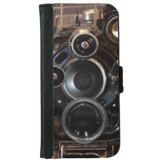 Old Camera Vintage photography gear Wallet Phone Case For iPhone 6/6s