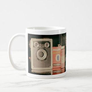 Old cameras coffee mug