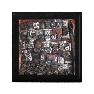 Old cameras jewelry box