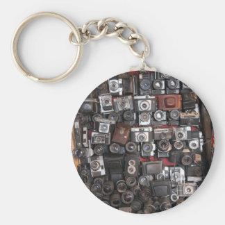 Old cameras keychain