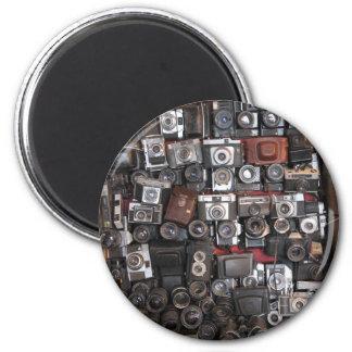 Old cameras magnet