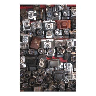 Old cameras stationery