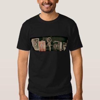 Old cameras tee shirt