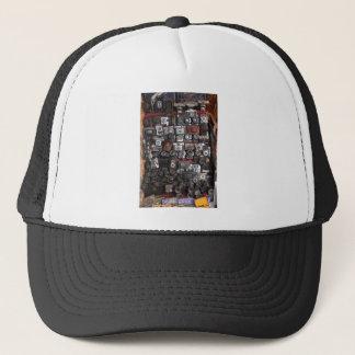 Old cameras trucker hat