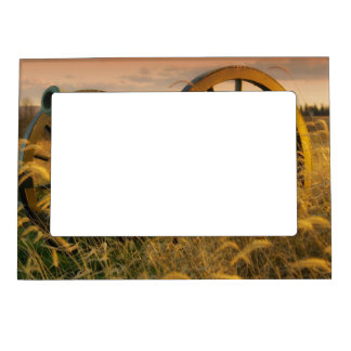 Old Cannon in Antietam Magnetic Photo Frame