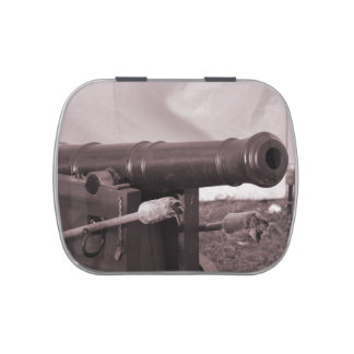 old canon and rods sepia civil fort jelly belly candy tin