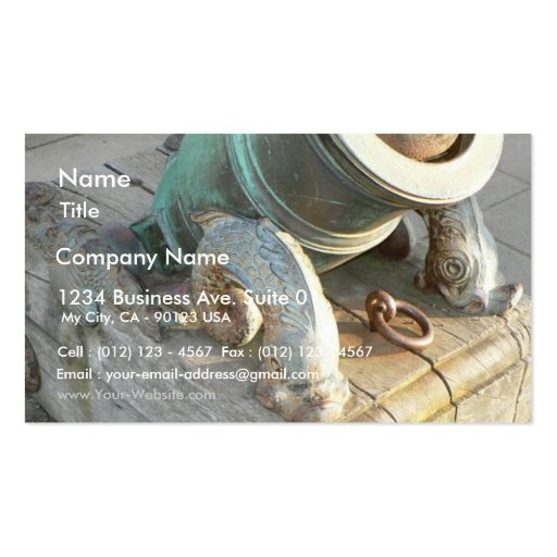 old canon business card zazzle. Black Bedroom Furniture Sets. Home Design Ideas