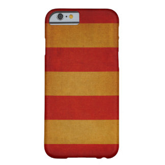 Old canvas deck chair pattern barely there iPhone 6 case