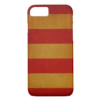 Old canvas deck chair pattern iPhone 8/7 case