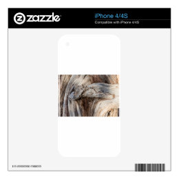 Old Canyon Tree Texture Skins For iPhone 4S
