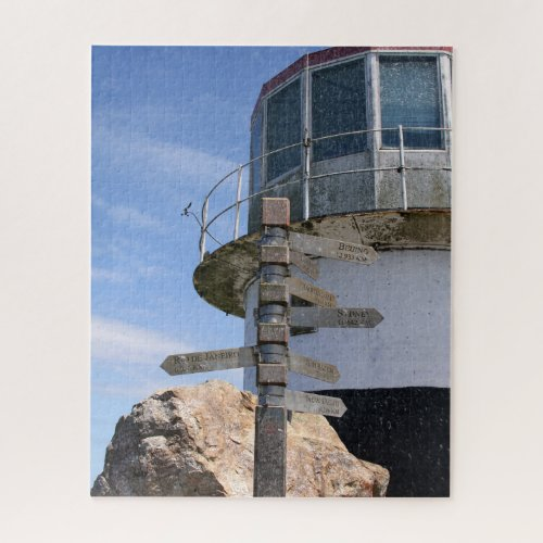 Old Cape Point Lighthouse, South Africa Jigsaw Puzzle