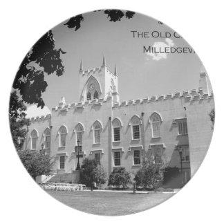 Old Capitol Building - Milledgeville, Georgia Melamine Plate