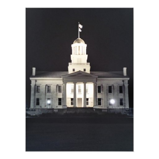 Old Capitol Photo Print