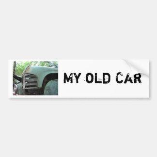 old car 2 bumper sticker