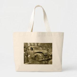 old car 2 large tote bag