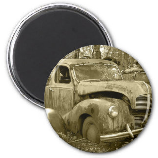 old car 2 magnet