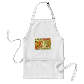 Old car automobile Durandal French advert Adult Apron