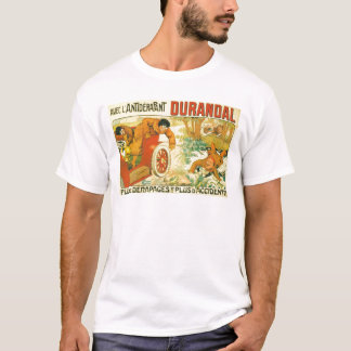 Old car automobile Durandal French advert T-Shirt