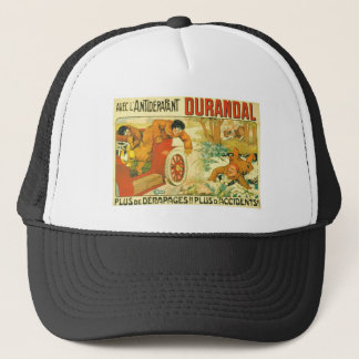 Old car automobile Durandal French advert Trucker Hat
