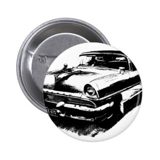 Old car cars rare vintage mustang button