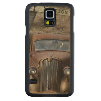 Old car carved® maple galaxy s5 case