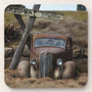 Old car coasters