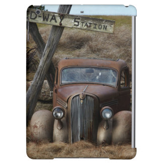 Old car cover for iPad air