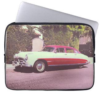 old car laptop sleeve