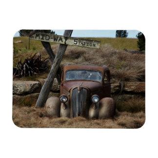 Old car magnet