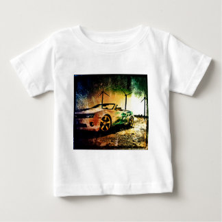 Old car photo baby T-Shirt