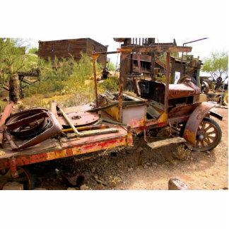 Old Car photo sculpture