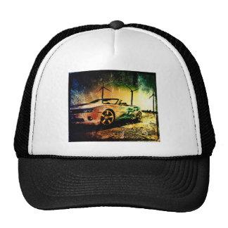 Old car photo trucker hat