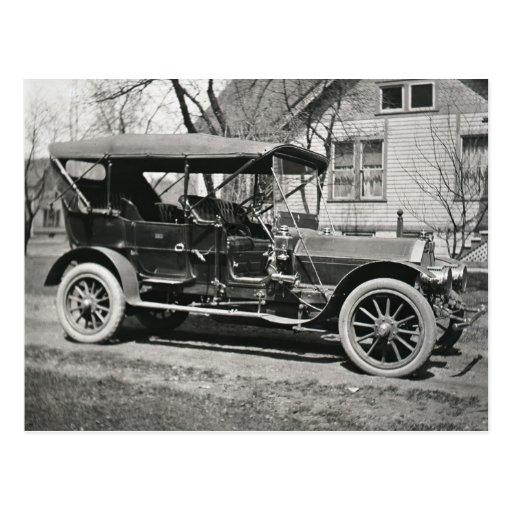Old Car Postcard