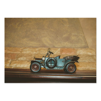 Old car toy large business cards (Pack of 100)