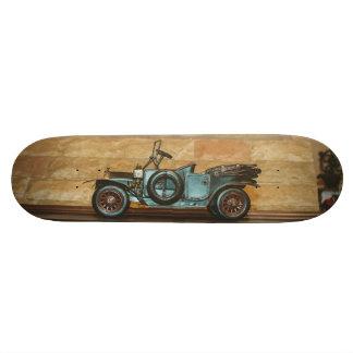 Old car toy custom skate board