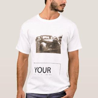 Old Car Truck in Junkyard T shirt