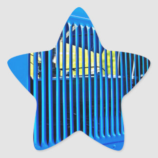 Old car vent star stickers