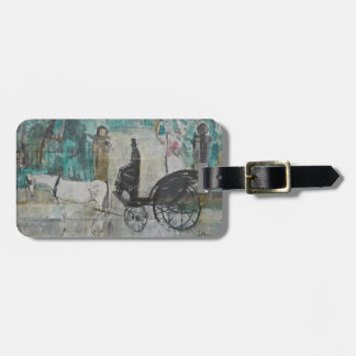 Old  Carriage Driver Bag Tag