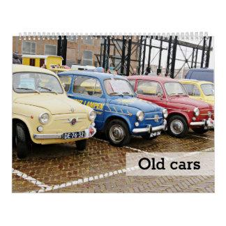 Old cars calendar